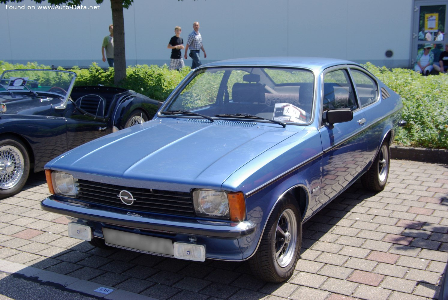 1977 Opel Kadett C Coupe 2 0 Gt E 115 Hp Technical Specs Data Fuel Consumption Dimensions