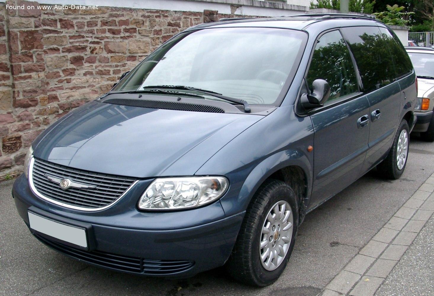 2001 Chrysler Voyager Iv 3 3 I V6 174 Cv Automatic Ficha Técnica Y Consumo Medidas