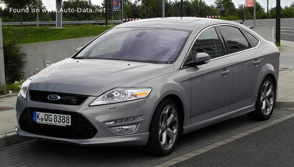 2010 Ford Mondeo III Hatchback (facelift 2010) - Photo 1