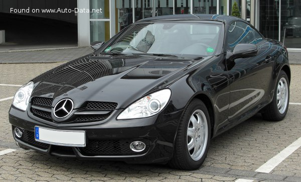 2008 Mercedes-Benz SLK (R171, facelift 2008) - Снимка 1