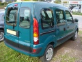 Renault Kangoo I (KC, facelift 2003) 1.9 D (55 Hp) - Technical Specs, Fuel consumption, Dimensions