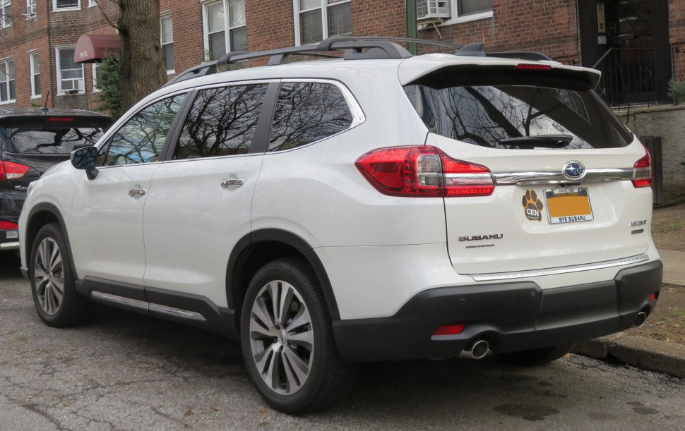 Subaru Ascent rear view