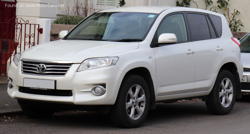 Toyota RAV4 III (XA30, facelift 2011) 2.2 D-4D (150 Hp) - Technical Specs, Fuel consumption, Dimensions