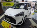 Technical specifications and fuel economy of Toyota Sienta