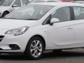 Vauxhall Corsa E 1.4i Turbo ecoFLEX (100 Hp) start/stop - Technical Specs, Fuel consumption, Dimensions