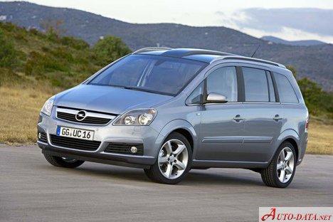 Opel Zafira B 19 Cdti 120 Hp Ficha Tcnica Y Consumo