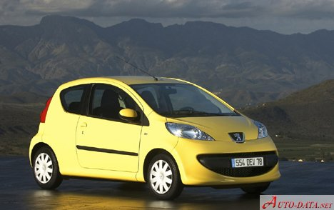 Peugeot - 107 - 1.0i (68 Hp) - Technical specifications, Fuel ...
