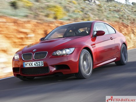 Bmw M3 Coupe E92 4 0i 420 Hp Technical Specs Data Fuel