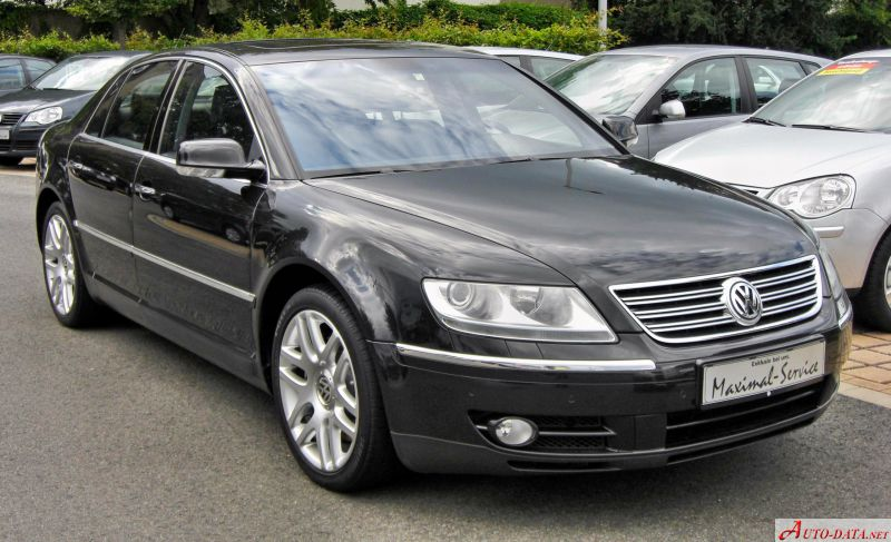 Volkswagen Phaeton Long - Technical Specs, Fuel consumption, Dimensions