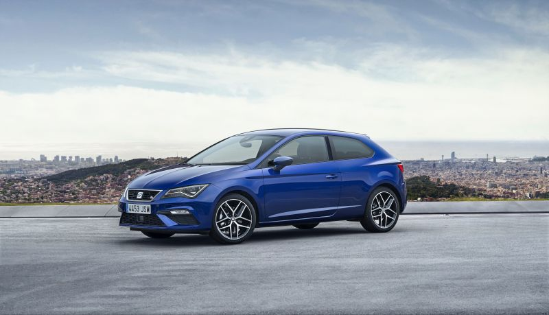 Seat Leon III SC (facelift 2016) 1.0 TSI (115 Hp) DSG - Technical Specs, Fuel consumption, Dimensions