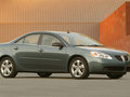 Technical specifications and fuel economy of Pontiac G6