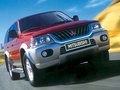 1996 Mitsubishi Pajero Sport I (K90) - Technical Specs, Fuel consumption, Dimensions