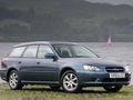 Subaru Legacy IV Station Wagon 2.0i (138 Hp) AWD Automatic - Fiche technique, Consommation de carburant, Dimensions