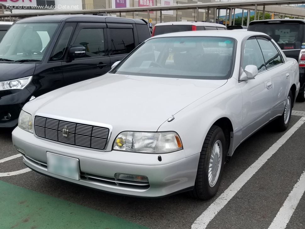 Images of: Toyota Crown Majesta I (S140, facelift 1993) - 1993