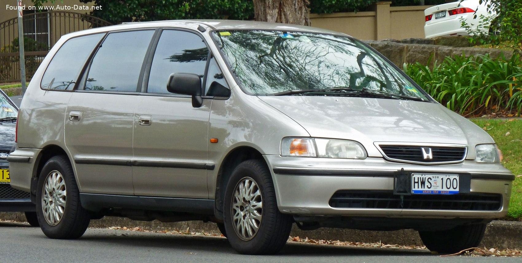 1994 Honda Odyssey I 2.2i (150 Hp)   Technical specs, data ...