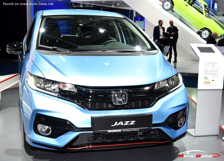 2018 Honda Jazz Iii Facelift 2017 1 5 I Vtec 130 Hp Technical Specs Data Fuel Consumption Dimensions