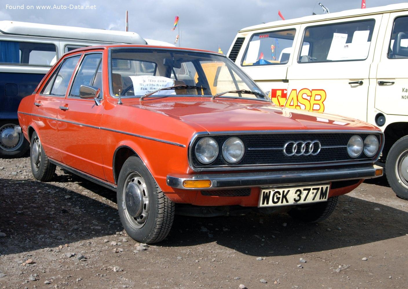 1972 Audi 80 (B1, Typ 80) 1.5 (75 кс) Automatic ...