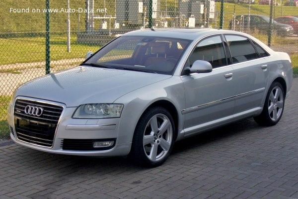 2008 Audi A8 D3 4e Facelift 2007 2 8 Fsi E V6 210 Hp Multitronic Technical Specs Data Fuel Consumption Dimensions