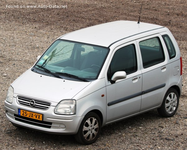 2000 Opel Agila I - Photo 1