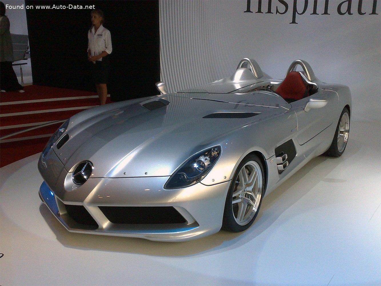 مرسدس بنز SLR مکلارن استرلینگ ماس تولید سال 2009 میلادیslr mclaren