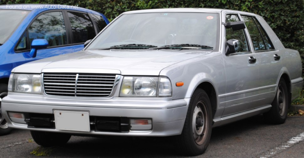 Nissan Cedric (Y31, facelif 1991) 2.8d (100 Hp) Automatic - Technical Specs, Fuel consumption, Dimensions