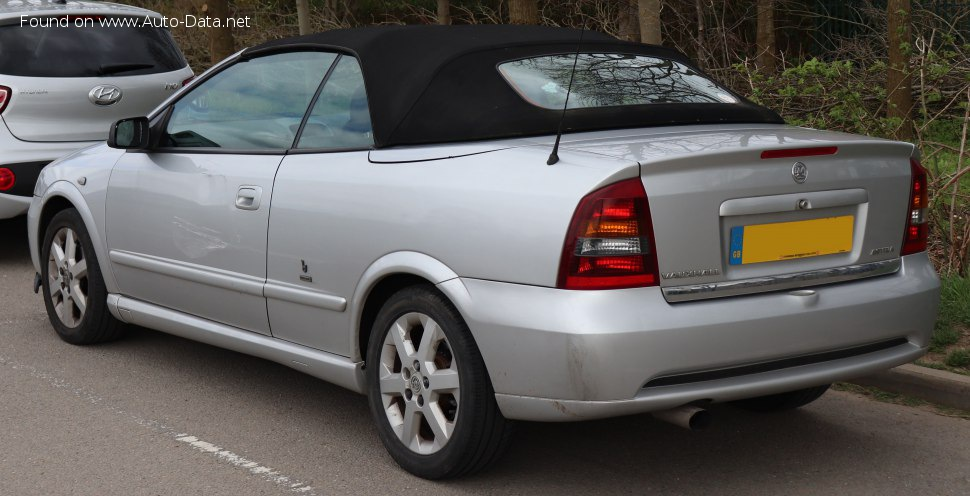 2002 Vauxhall Astra Mk IV Convertible - Photo 1