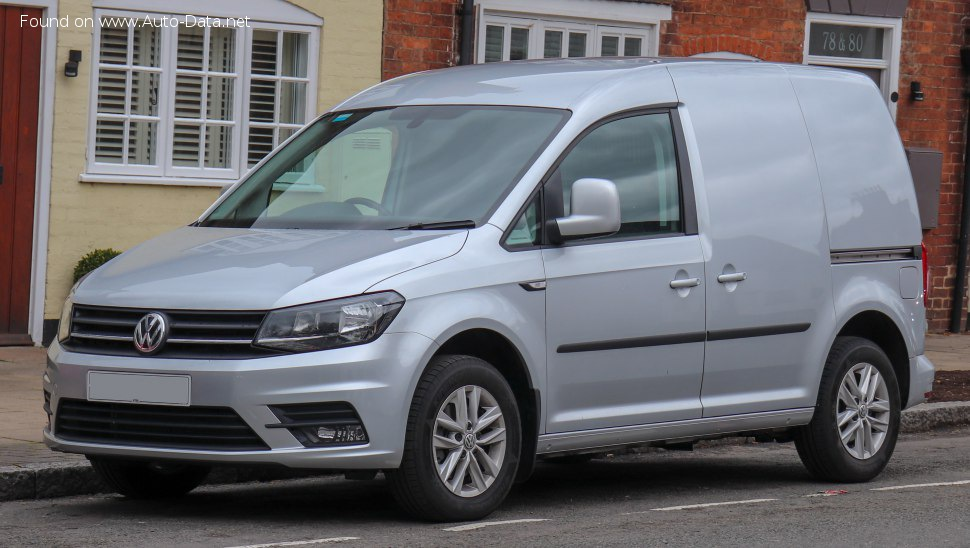 Volkswagen Caddy Panel Van (Typ 2K, facelift 2015) 2.0 TDI (75 Hp) - Technical Specs, Fuel consumption, Dimensions