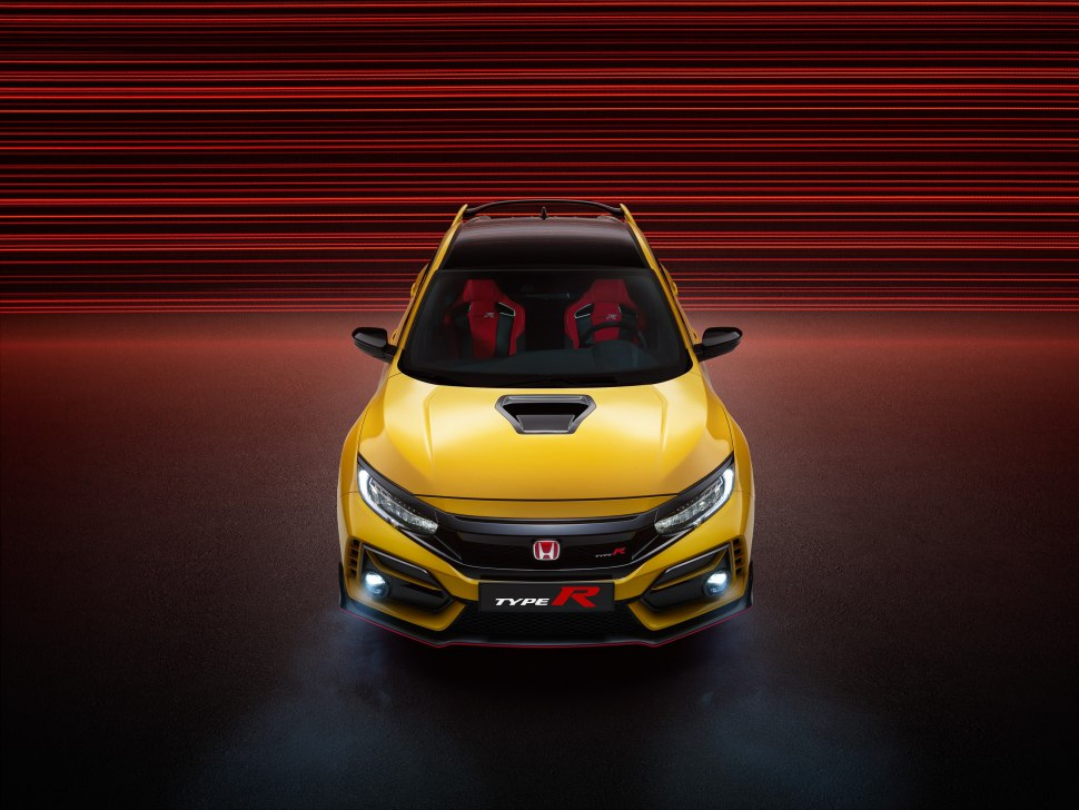 Honda Civic Type R Limited Edition 2021 in Phoenix Yellow