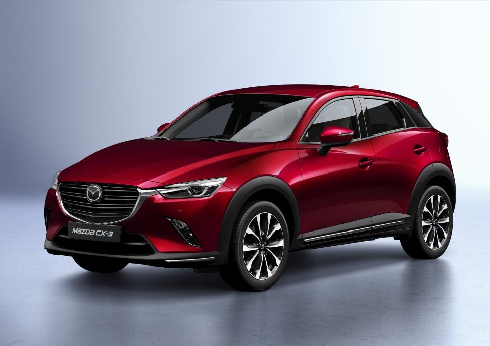 2018 Mazda Cx 3 Facelift 2018 2 0 Skyactiv G 121 Hp Technische Daten Verbrauch Spezifikationen Masse