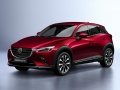 Technical specifications and fuel economy of Mazda CX-3