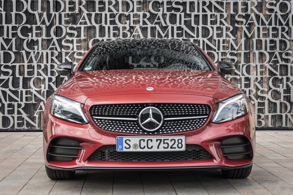 Mercedes C Class Coupe >> Kuvat Mercedes Benz C Class Coupe C205 Facelift 2018 2018