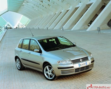 Fiat Stilo Technical Specifications Fuel Economy Consumption