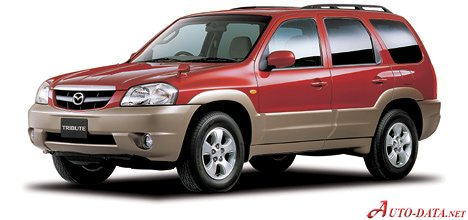 Mazda Tribute 2.0 i 16V 4WD (124 Hp) - Fiche technique, Consommation de carburant, Dimensions