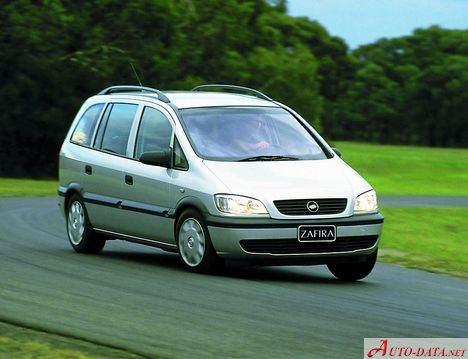 Chevrolet Zafira 20 8v 116 Hp Ficha Tcnica Y Consumo