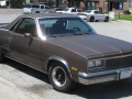 Malibu El Camino (Sedan Pickup, facelift 1981)