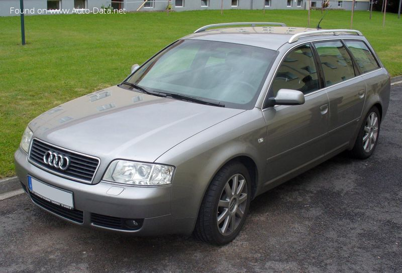 Audi A6 Avant (4B,C5, facelift 2001) 1.9 TDI (130 Hp) - Technical Specs, Fuel consumption, Dimensions