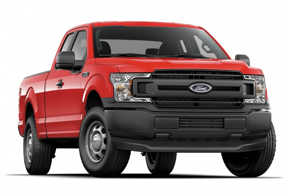Ford F-150 XIII SuperCab (facelift 2018) 2.7 V6 (325 Hp) 4x4 Automatic - Technical Specs, Fuel consumption, Dimensions