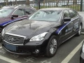 Technical specifications and fuel economy of Infiniti Q70