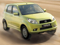 Technical specifications and fuel economy of Daihatsu Terios