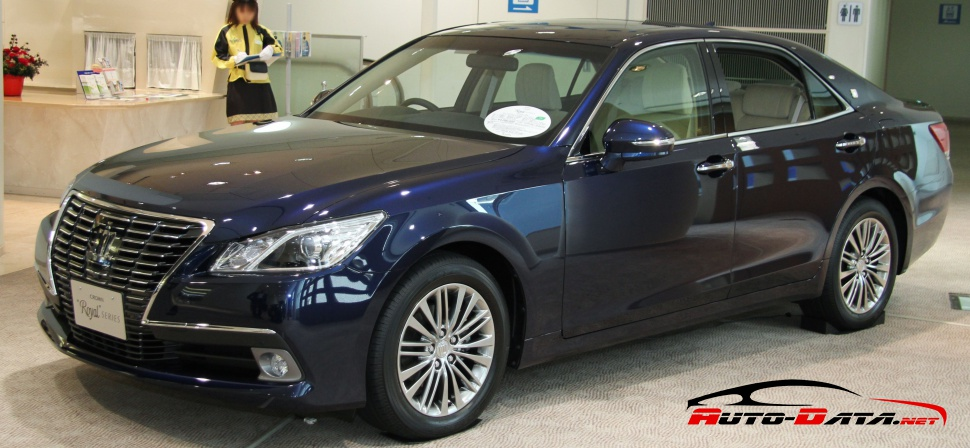 Toyota Crown Royal XIV (S210, facelift 2016) 2.5 (178 Hp) Hybrid 4x4 CVT - Fiche technique, Consommation de carburant, Dimensions