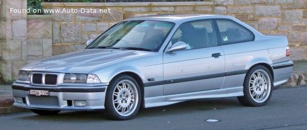 1995 Bmw M3 Coupe E36 3 2 321 Hp Technical Specs Data Fuel Consumption Dimensions