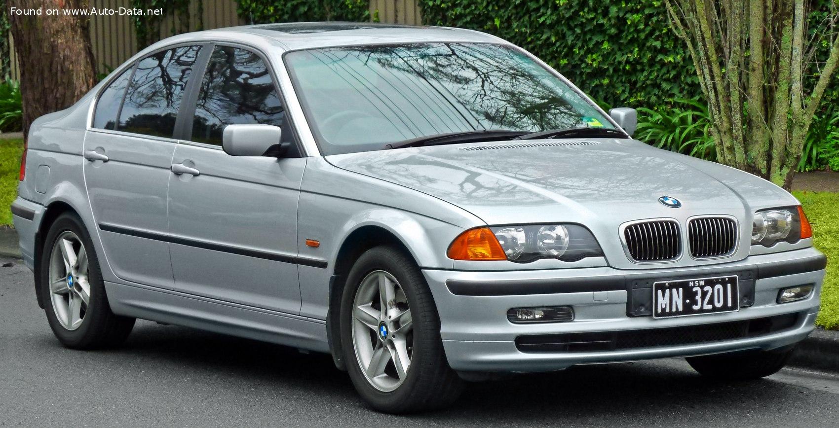 1998 Bmw 3 Series Sedan E46 328i 193 Hp Technical Specs Data Fuel Consumption Dimensions