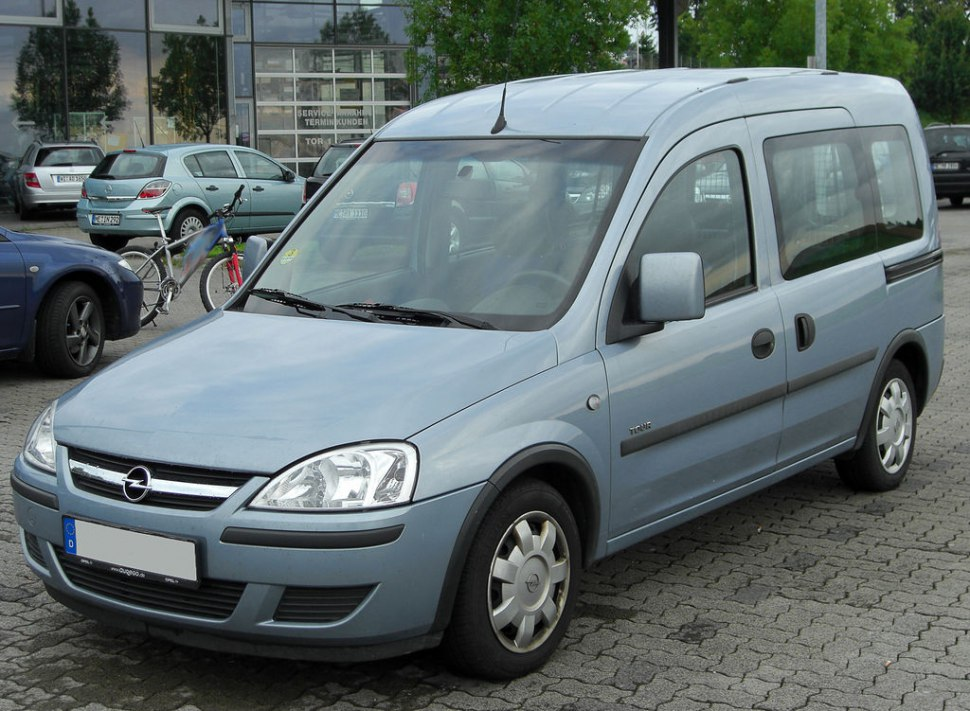 2003 Opel Combo Tour C (facelift 2003) - Фото 1