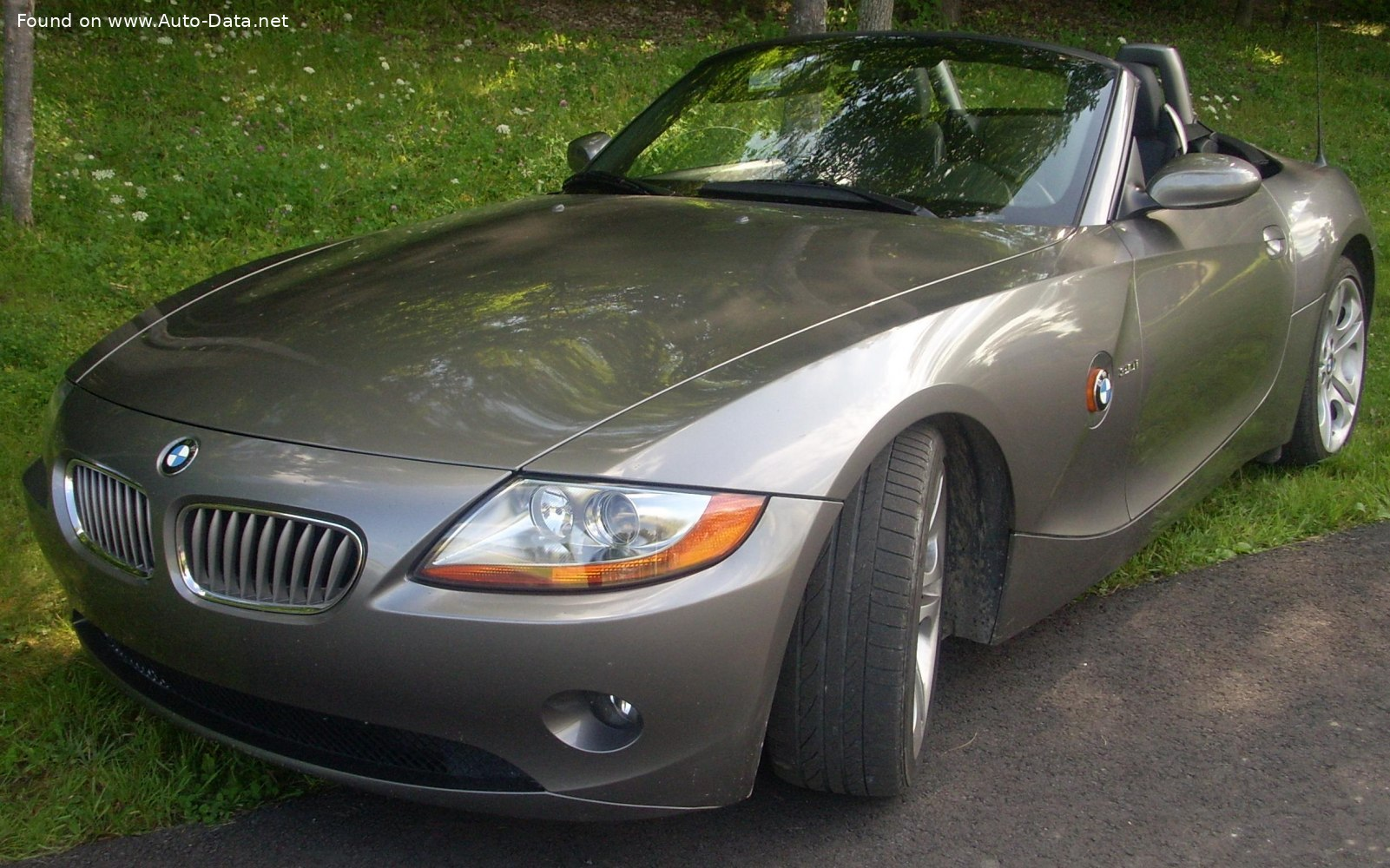 2002 Bmw Z4 E85 3 0i 231 Hp Technical Specs Data Fuel Consumption Dimensions