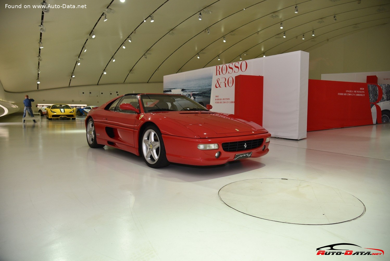 1995 Ferrari F355 Gts 355 Gts 381 Ps Technische Daten Verbrauch Spezifikationen Maße
