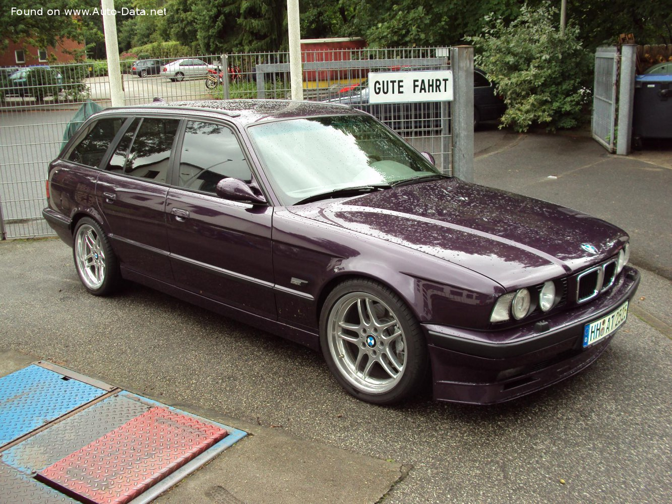 1991 Bmw 5 Series Touring E34 525i 192 Hp Technical Specs Data Fuel Consumption Dimensions