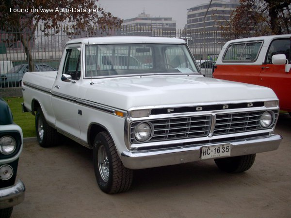 1973 Ford F-100 VI Regular Cab - Фото 1