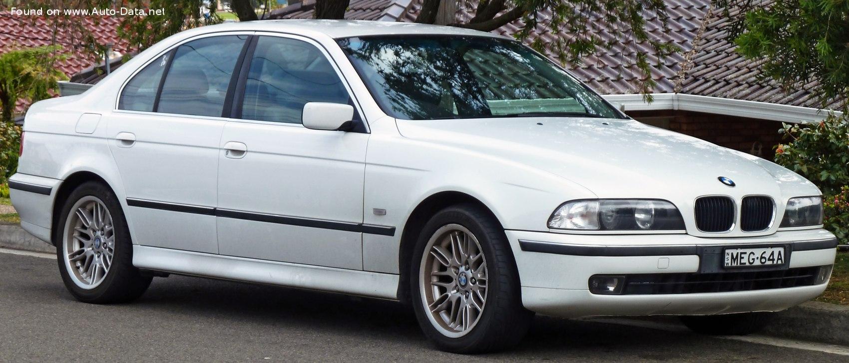 1998 Bmw 5 Series E39 528i 193 Hp Technical Specs Data Fuel Consumption Dimensions