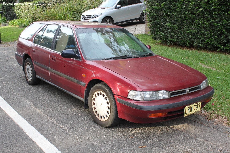1990 Honda Accord IV Wagon (CB8) | Technical Specs, Fuel ...