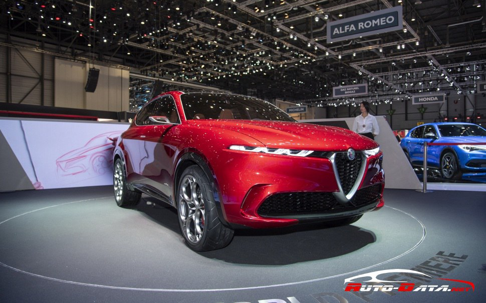 The conceptional Alfa Romeo Tonale